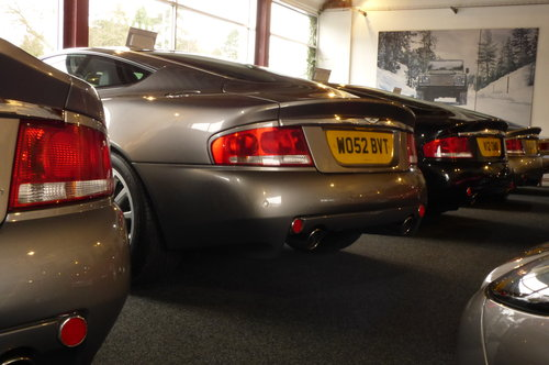 2003 Aston Martin Vanquish V12 For Sale (picture 1 of 1)