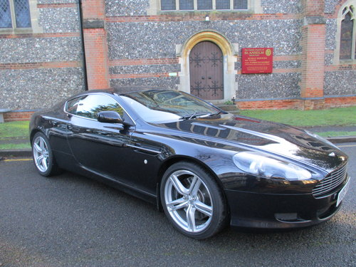 ASTON MARTIN DB9 COUPE AUTO   2005  42,080 MILES ONLY For Sale (picture 2 of 9)