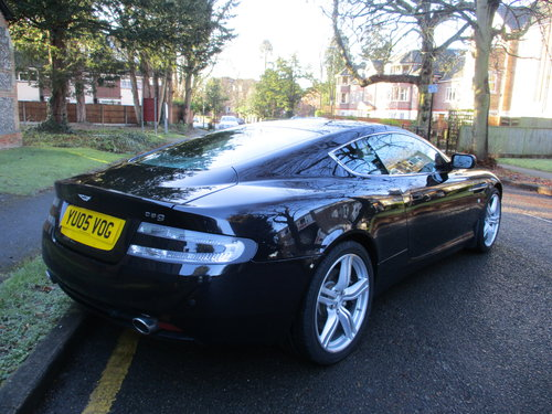 ASTON MARTIN DB9 COUPE AUTO   2005  42,080 MILES ONLY For Sale (picture 6 of 9)