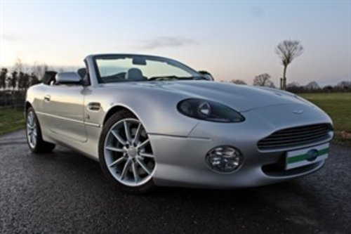 2001 ASTON MARTIN VANTAGE VOLANTE For Sale (picture 1 of 6)