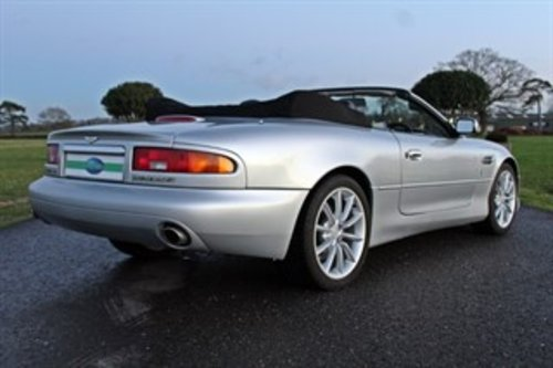 2001 ASTON MARTIN VANTAGE VOLANTE For Sale (picture 5 of 6)