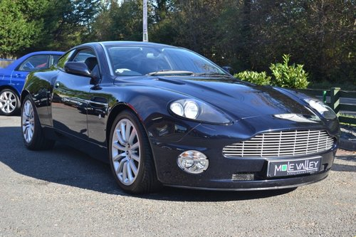 2002 Aston Martin Vanquish. For Sale (picture 1 of 6)