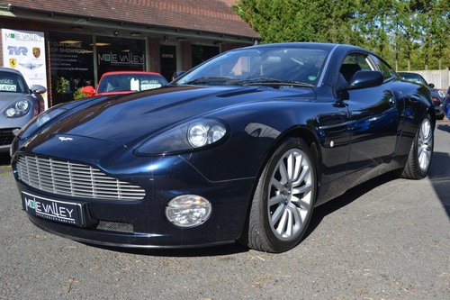 2002 Aston Martin Vanquish. For Sale (picture 2 of 6)