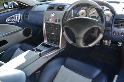 2002 Aston Martin Vanquish. For Sale (picture 5 of 6)