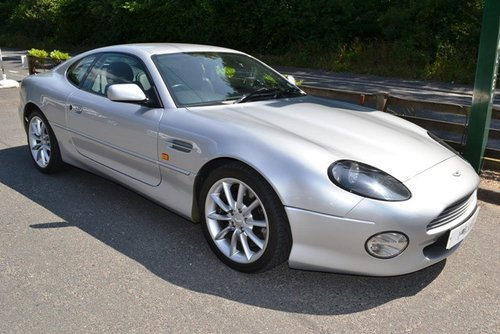 2001 Aston Martin DB7 V12 Automatic For Sale (picture 1 of 6)