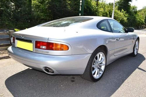2001 Aston Martin DB7 V12 Automatic For Sale (picture 4 of 6)