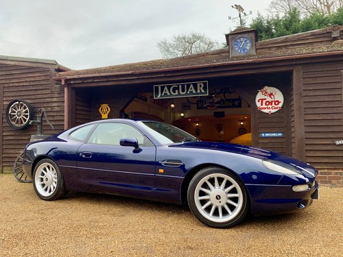 1995 ASTON MARTIN DB7 i6, 2 OWNERS, 49,000 MILES! SOLD (picture 1 of 6)