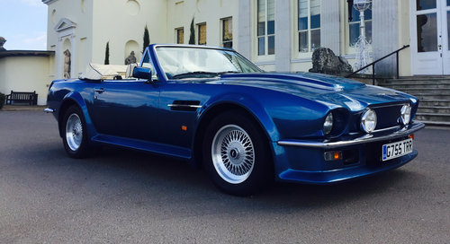 1989 Aston Martin Vantage Volante X Pack For Sale (picture 3 of 6)