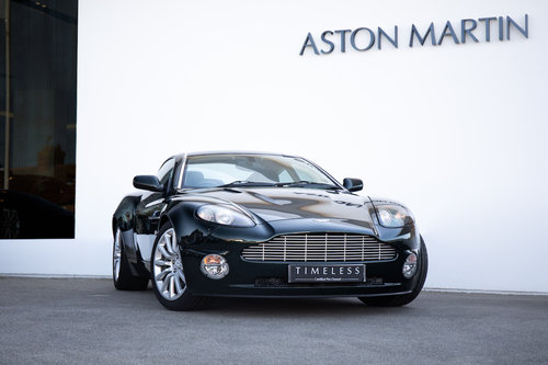 2002 Aston Martin Vanquish Coupe For Sale (picture 1 of 6)