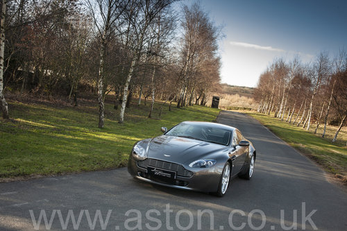 2006 Aston Martin V8 Vantage Coupe SOLD (picture 1 of 6)