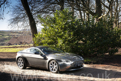 2006 Aston Martin V8 Vantage Coupe SOLD (picture 2 of 6)