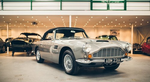 1963 Aston Martin DB4 Convertible SOLD (picture 1 of 6)