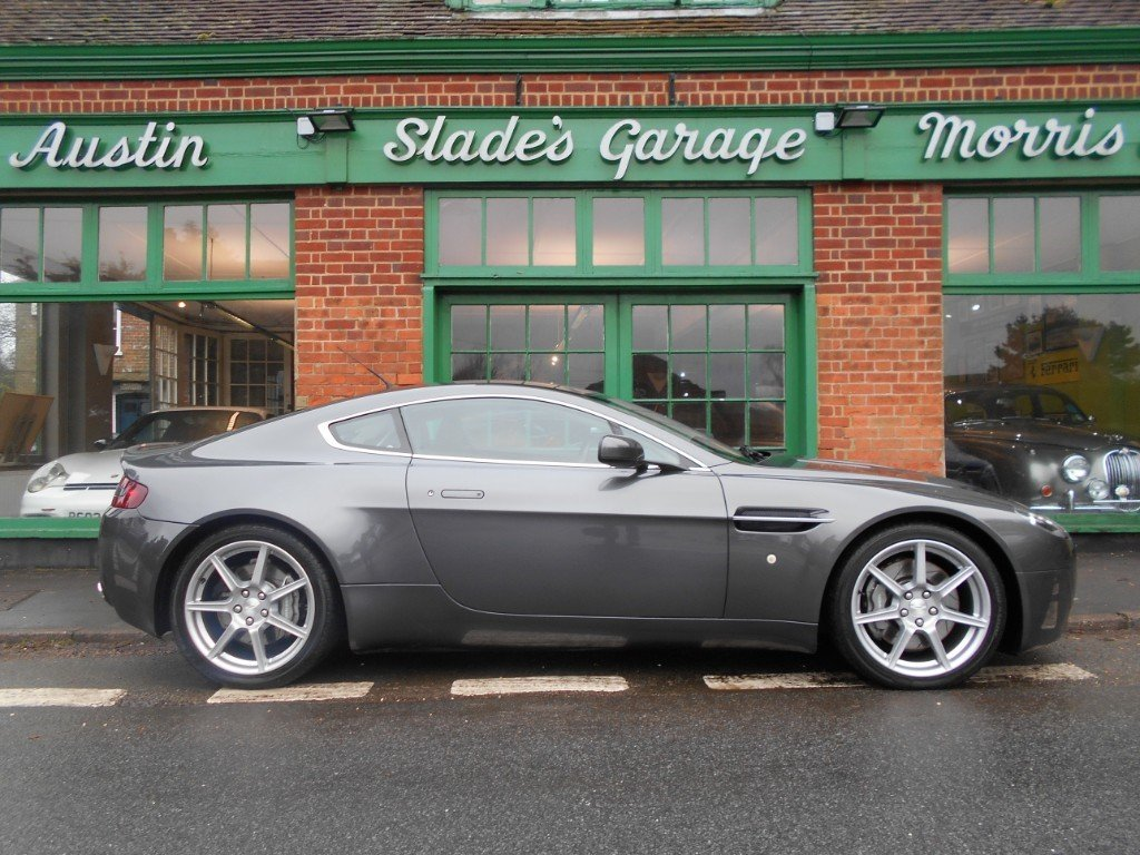 2006 Aston Martin V8 Vantage Coupe  SOLD (picture 1 of 4)