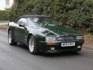 1995 Aston Martin Virage Volante Factory Widebody - 23750 miles For Sale
