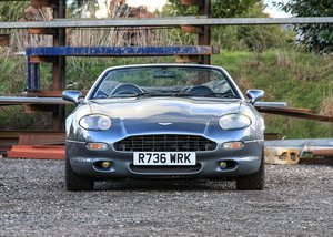 1998 Aston Martin DB7 Volante SOLD by Auction