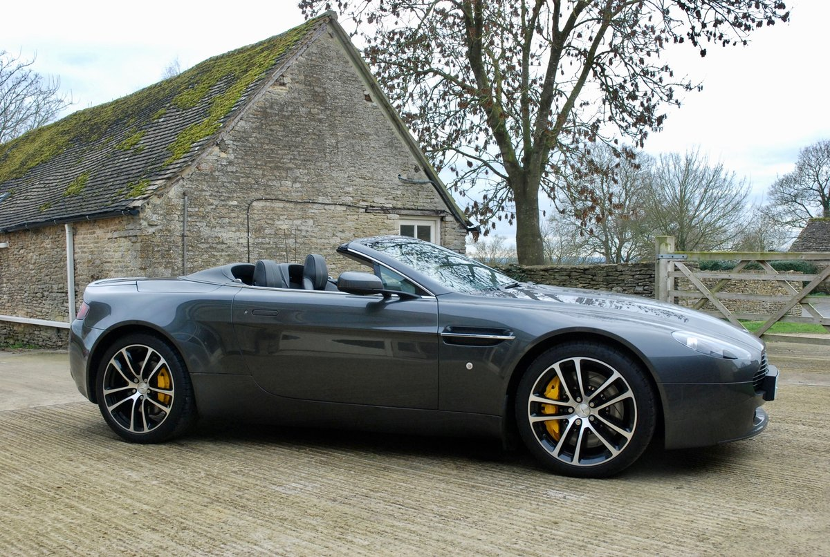 2007 Aston Martin Vantage V8 Roadster  For Sale (picture 1 of 6)