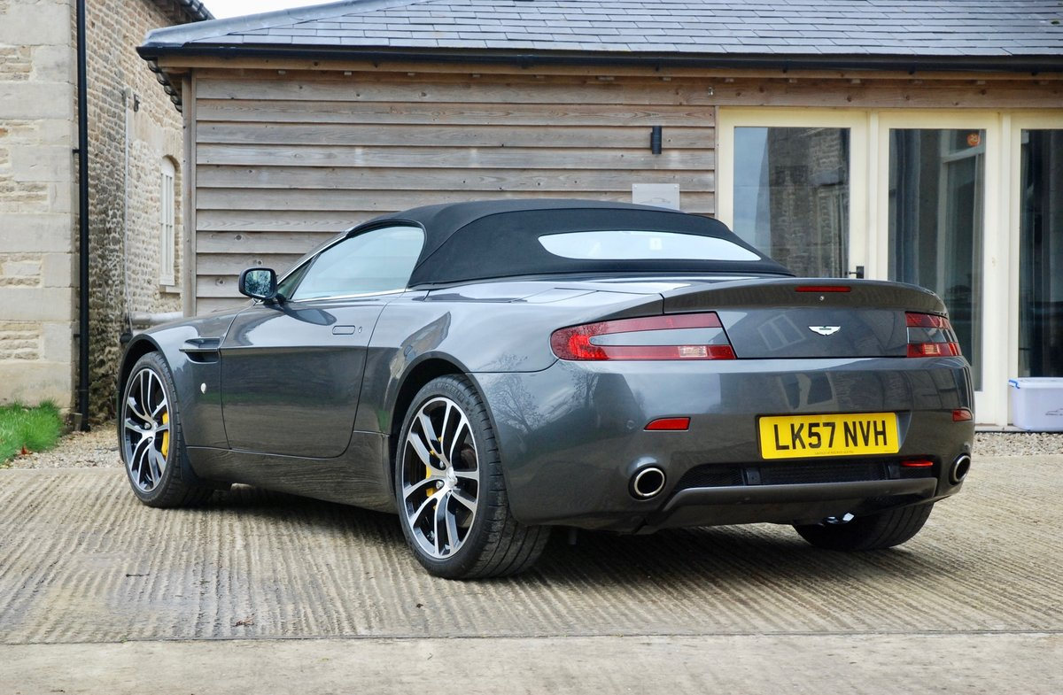 2007 Aston Martin Vantage V8 Roadster  For Sale (picture 3 of 6)