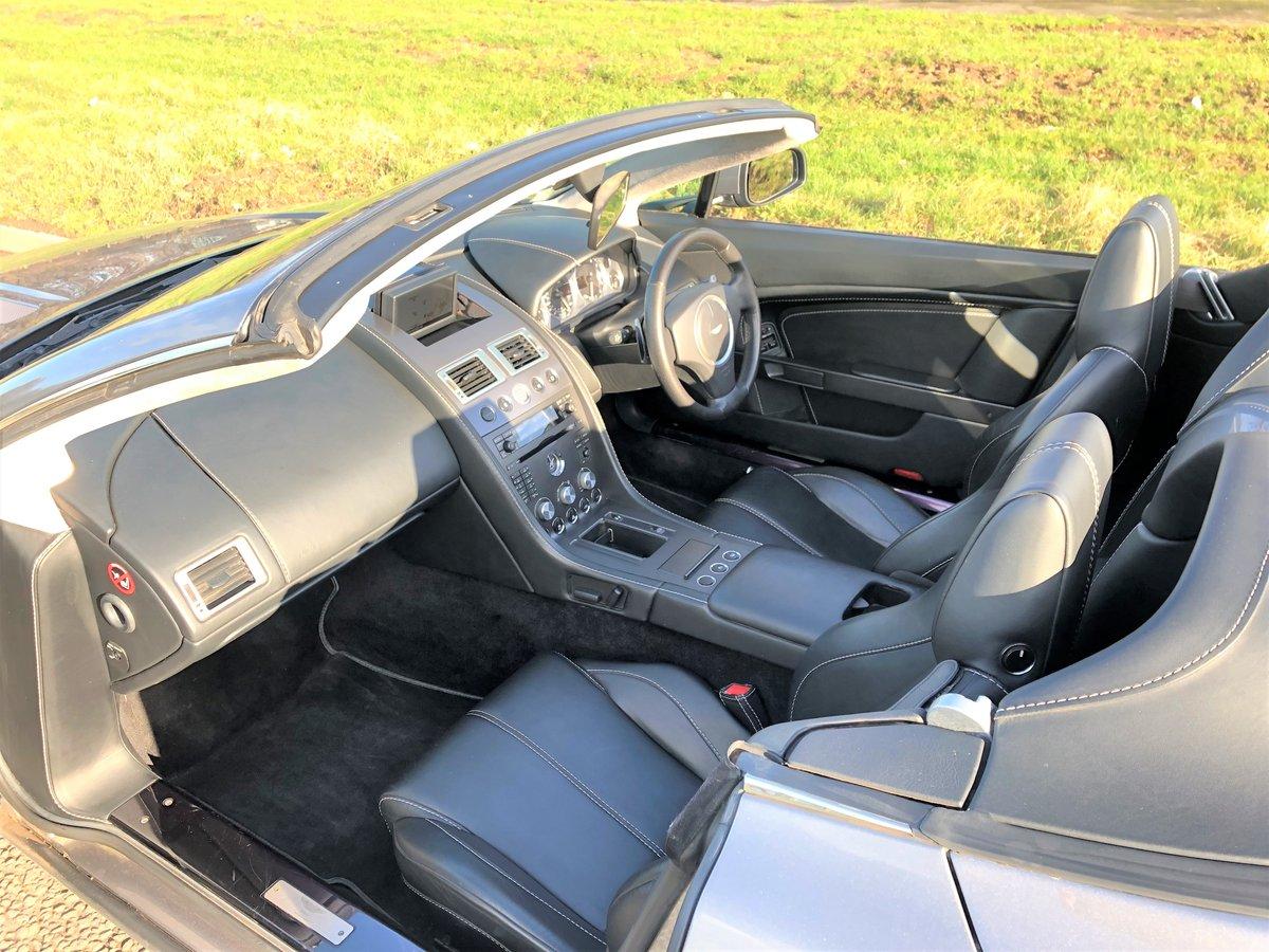2007 Aston Martin V8 Vantage Convertible 4.2L SOLD (picture 4 of 6)