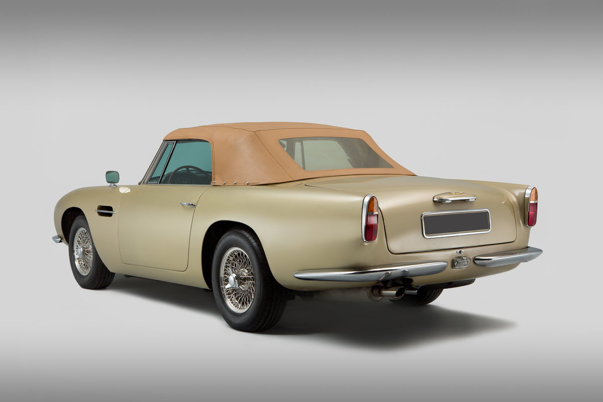 1965 Aston Martin Short Chassis Volante For Sale (picture 2 of 6)