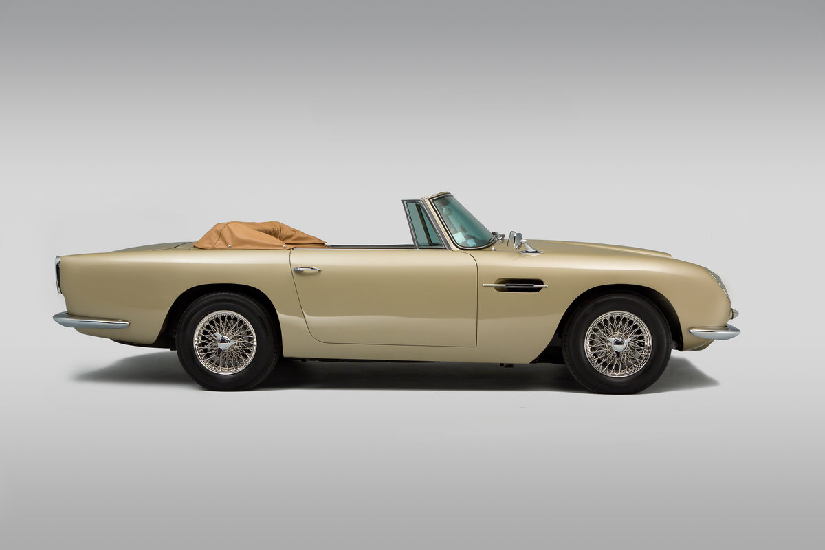 1965 Aston Martin Short Chassis Volante For Sale (picture 3 of 6)