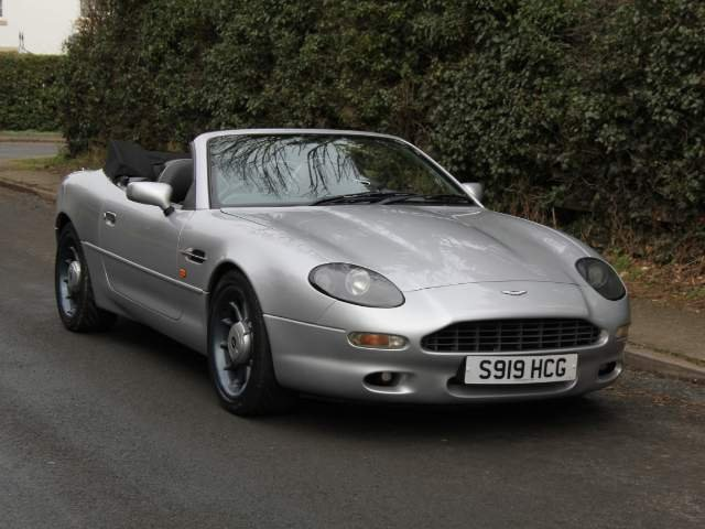 1998 Aston Martin DB7 Convertible - Alfred Dunhill Edition For Sale (picture 1 of 6)