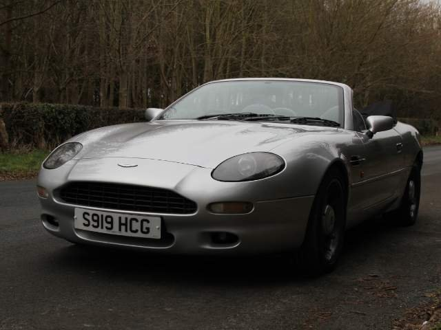 1998 Aston Martin DB7 Convertible - Alfred Dunhill Edition For Sale (picture 2 of 6)