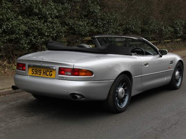 1998 Aston Martin DB7 Convertible - Alfred Dunhill Edition For Sale (picture 3 of 6)