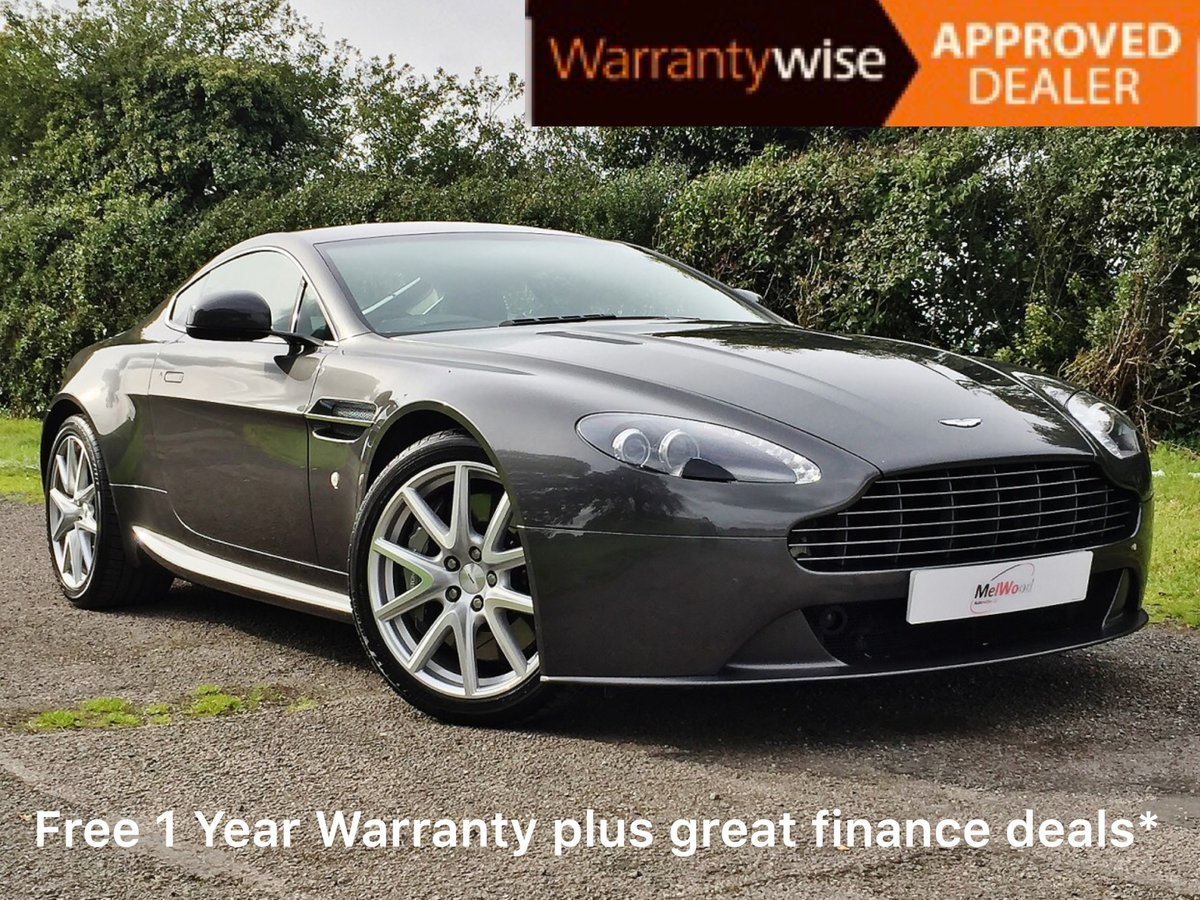 2013 Aston Martin Vantage 4.7 V8 Manual in Factory Showroom Cond. For Sale (picture 1 of 6)