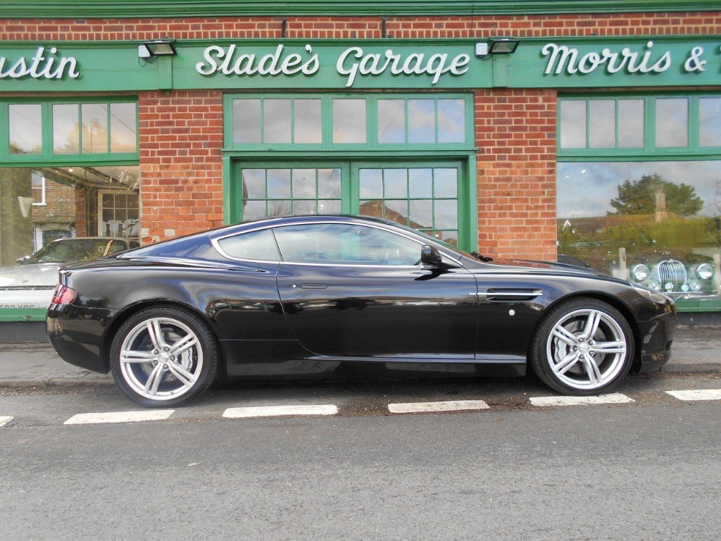 2007 Aston Martin DB9 Coupe Touchtronic SOLD (picture 1 of 4)