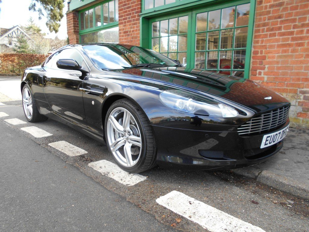 2007 Aston Martin DB9 Coupe Touchtronic SOLD (picture 2 of 4)
