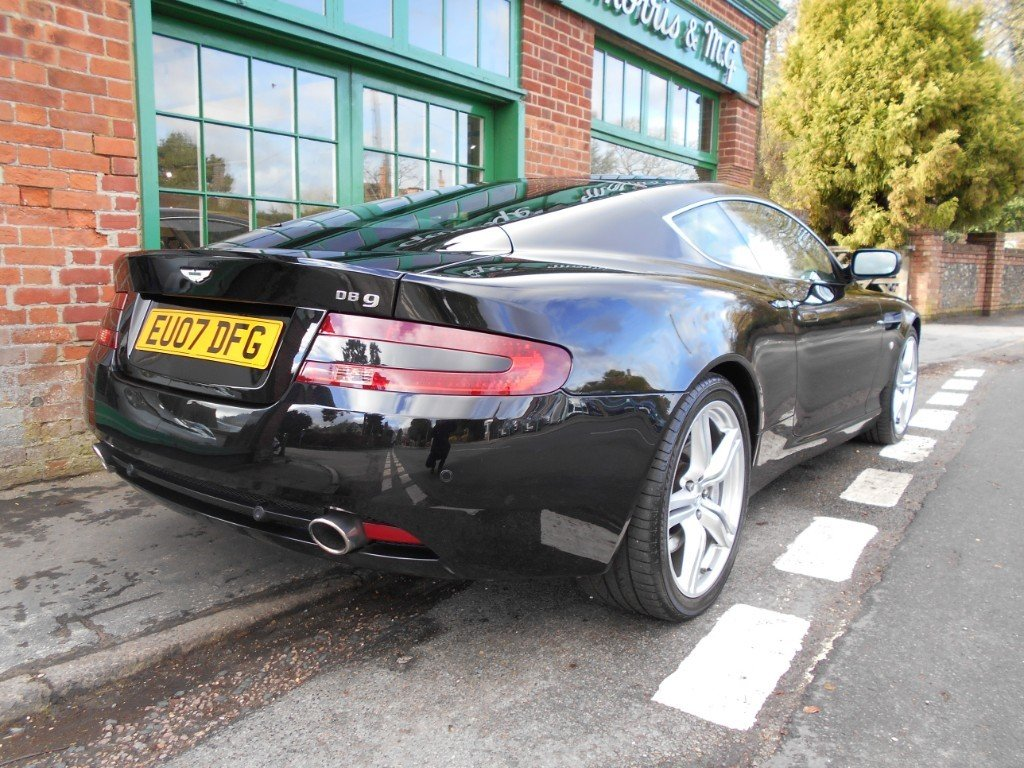 2007 Aston Martin DB9 Coupe Touchtronic SOLD (picture 3 of 4)