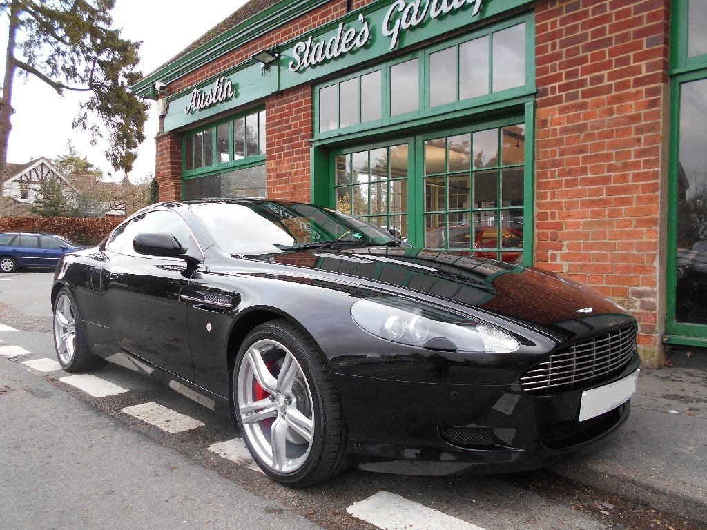 2007 Aston Martin DB9 Coupe Touchtronic For Sale (picture 2 of 4)
