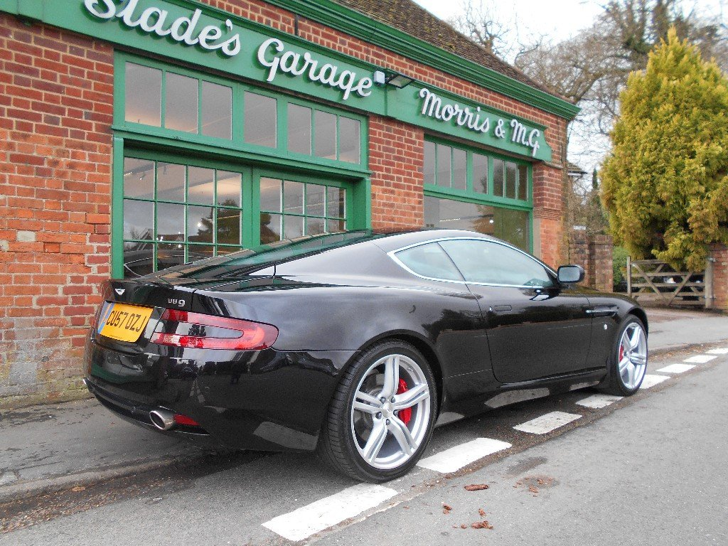 2007 Aston Martin DB9 Coupe Touchtronic For Sale (picture 3 of 4)