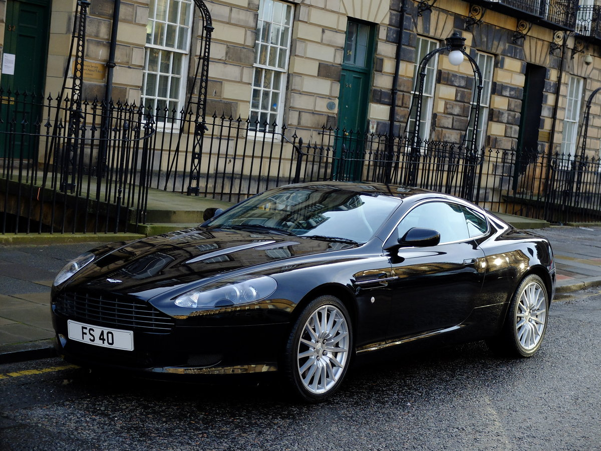 2005 ASTON DB9 COUPE - IMPECCABLE SERVICE HISTORY ! For Sale (picture 1 of 6)