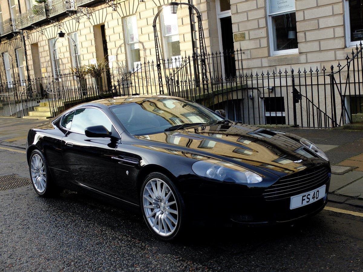2005 ASTON DB9 COUPE - IMPECCABLE SERVICE HISTORY ! For Sale (picture 6 of 6)