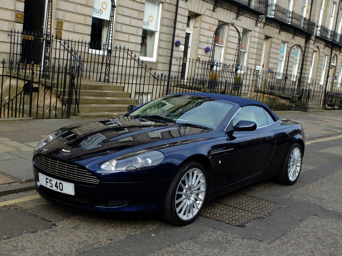 2006 ASTON DB9 VOLANTE - 35K MILES - 1 OWNER FROM NEW ! SOLD (picture 1 of 6)
