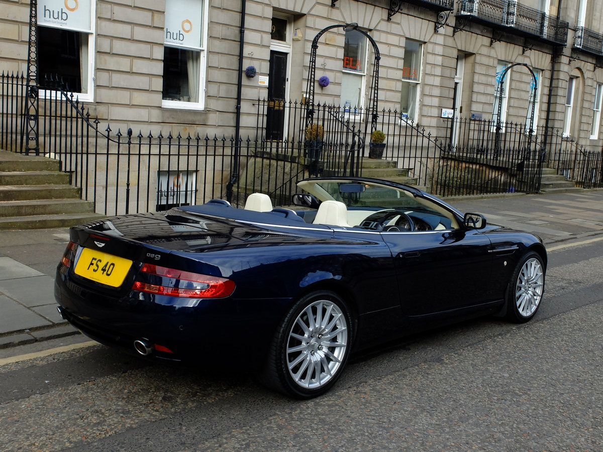 2006 ASTON DB9 VOLANTE - 35K MILES - 1 OWNER FROM NEW ! SOLD (picture 3 of 6)