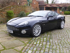 2003 Aston Martin V12 Vanquish For Sale