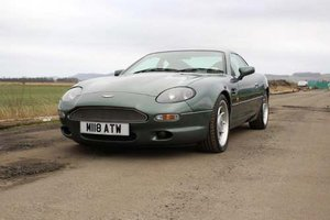 1995 Aston Martin DB7 at Morris Leslie Classic Auction 25th May