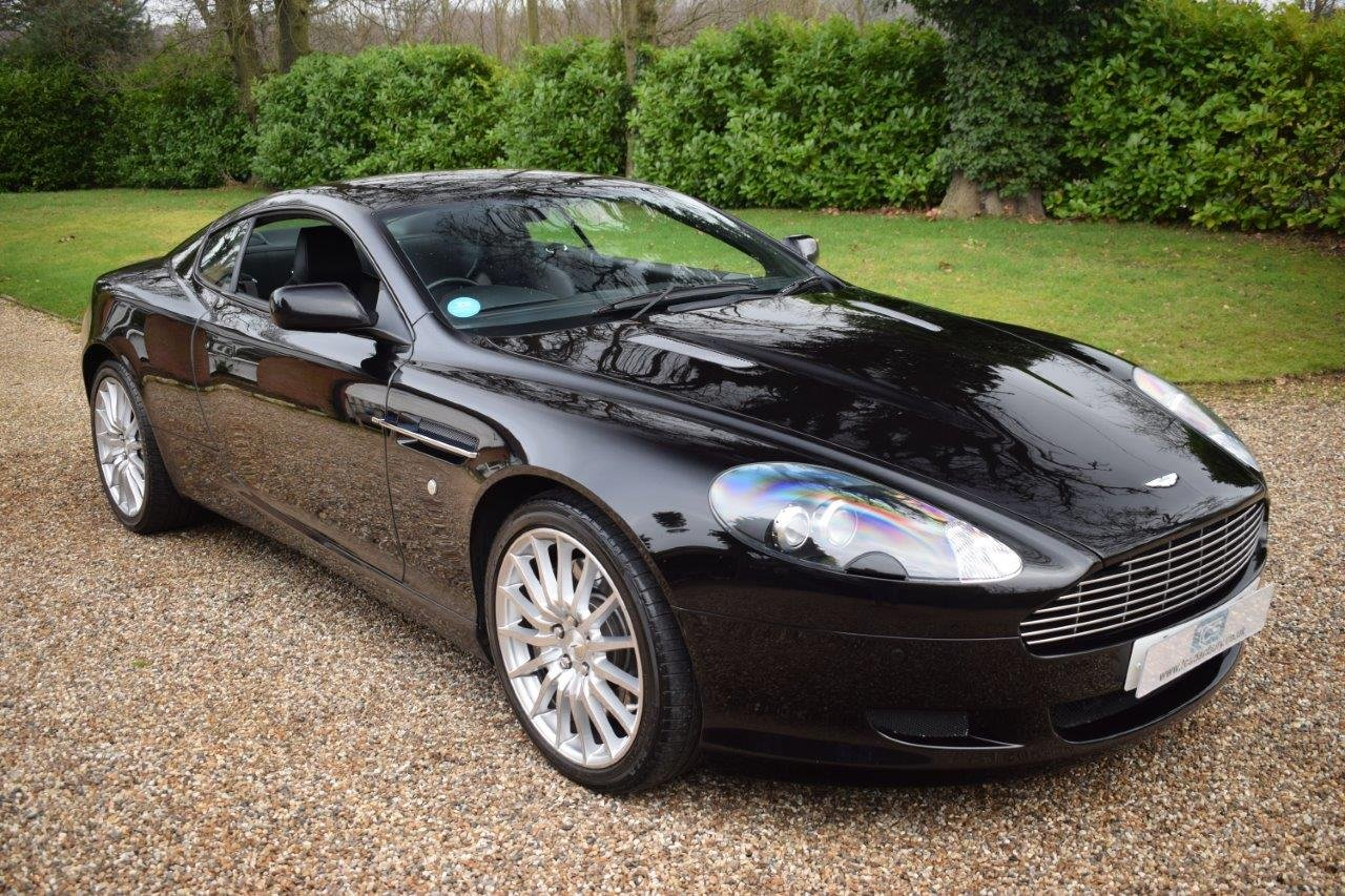 2000 Aston Martin DB9 Coupe 6.0i V12 Automatic 07MY SOLD (picture 1 of 6)