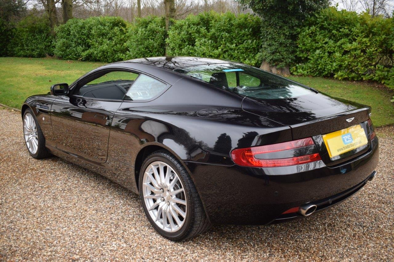 2000 Aston Martin DB9 Coupe 6.0i V12 Automatic 07MY SOLD (picture 2 of 6)