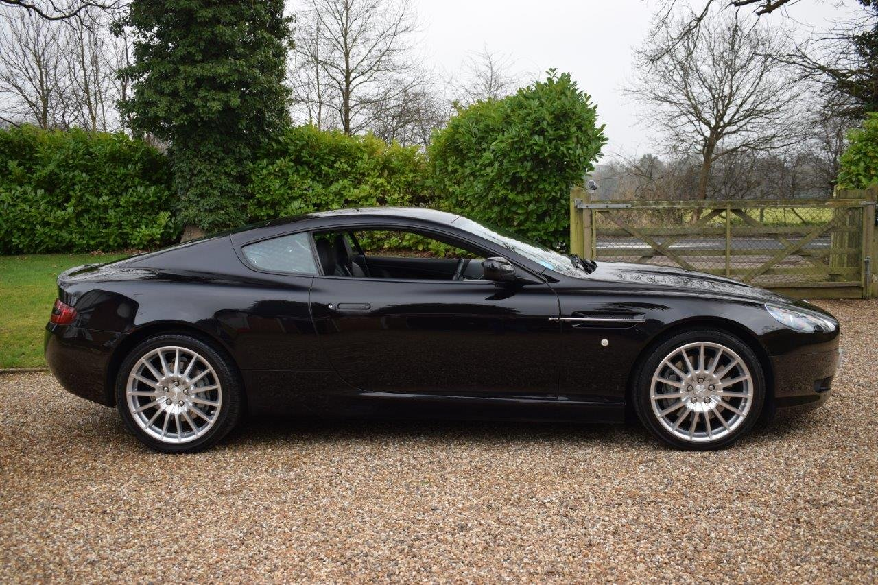 2000 Aston Martin DB9 Coupe 6.0i V12 Automatic 07MY SOLD (picture 3 of 6)