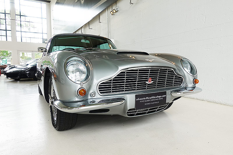 1967 Original RHD DB6 Mk1, Silver Grey, 5 speed manual For Sale (picture 1 of 6)