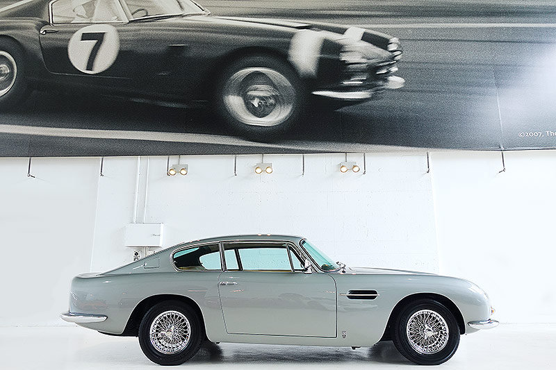 1967 Original RHD DB6 Mk1, Silver Grey, 5 speed manual For Sale (picture 3 of 6)