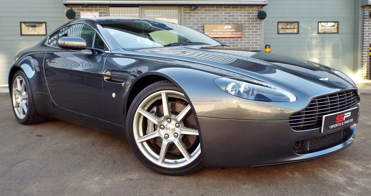 2006 Aston Martin Vantage 4.3 V8 Manual Coupe Low Miles! For Sale (picture 1 of 6)