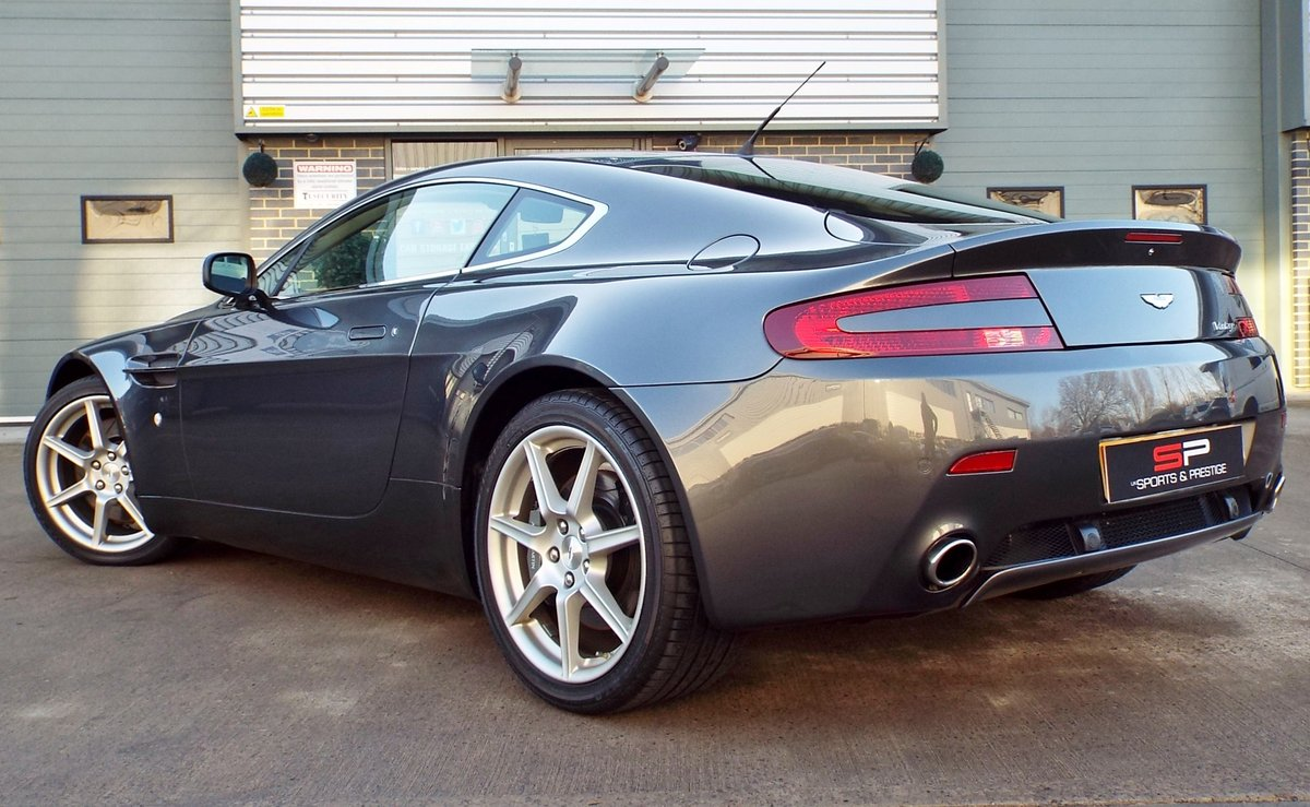 2006 Aston Martin Vantage 4.3 V8 Manual Coupe Low Miles! For Sale (picture 5 of 6)