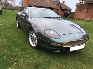 1998 Aston Martin DB7 i6 manual
