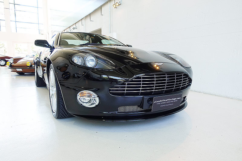 2007 one of just 20 RHD V12 Vanquish S Ultimate, immaculate For Sale (picture 1 of 6)