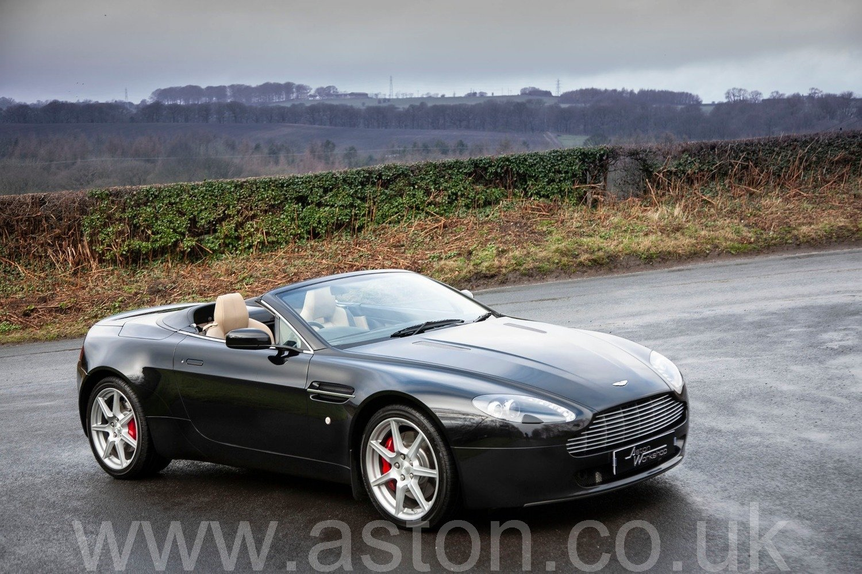 2007 Aston Martin V8 Vantage Roadster Sportshift SOLD (picture 1 of 6)