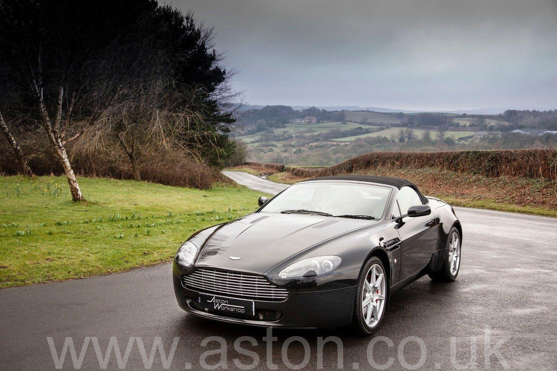 2007 Aston Martin V8 Vantage Roadster Sportshift SOLD (picture 2 of 6)
